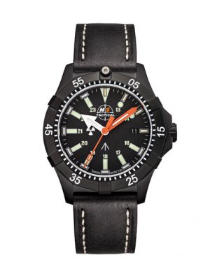 COMMANDER DIVER - 20 atm - leather bracelet