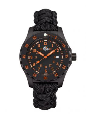 TROOPER CARBON - 10 atm - paracord bracelet