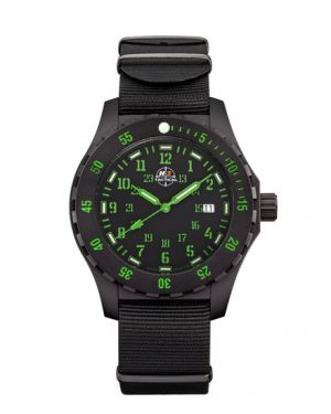 TROOPER CARBON - 10 atm - nylon bracelet-2
