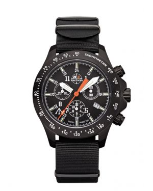 TROOPER - 10 atm - chronograph - nylon bracelet